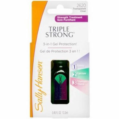 3 Pack - Sally Hansen Triple Strong Advanced Gel Nail Fortifier, [2620], 0.45 oz