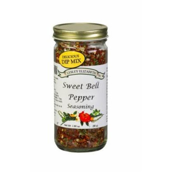 Lesley Elizabeth Sweet Bell Pepper Seasoning 2.80oz
