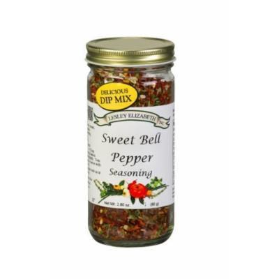 Lesley Elizabeth Sweet Bell Pepper Seasoning 2.80oz