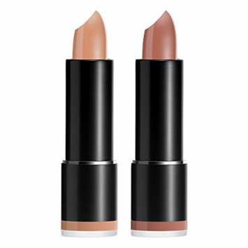 Crown PRO - Matte Lipstick Duo - Light Nudes, Includes Two Full Size Lipsticks - All Day Wear