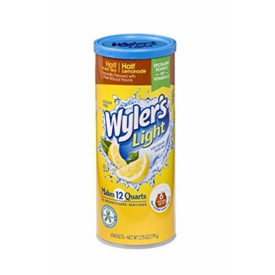 Wyler's Light Canister Drink Mix, Half Iced Tea Half Lemonade, 2.75 Ounce (Pack of 6)