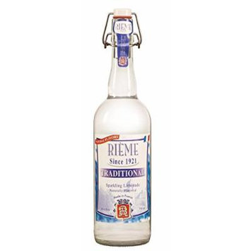 Rieme Original Traditional French Lemonade - 25.4oz Bottle with Mechanical Cork (Original, Eight Bottles)