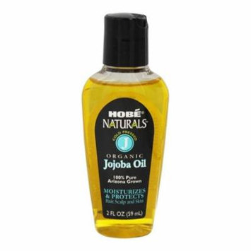 Hobe Naturals 100% Pure Organic Jojoba Oil, 2 Oz