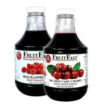 1 Quart Tart Cherry & 1 Quart Red Raspberry