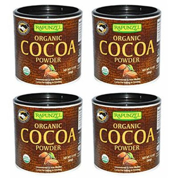 Rapunzel, Organic Cocoa Powder, 7.1 oz (201 g) - Pack of 4