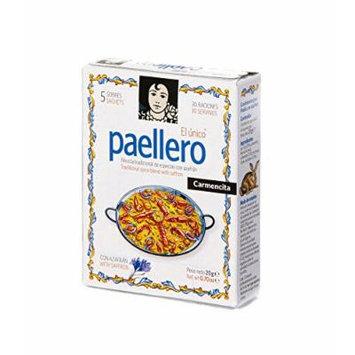 Paellero Paella Seasoning from Spain (5 packets) 4 Pack