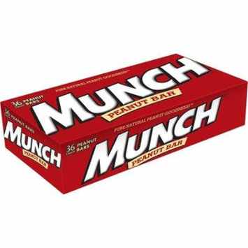 Munch Peanut Candy Bar, 1.42 Ounce, (36 Count)