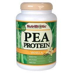 Pea Protein Vanilla Nutribiotic 21 oz Powder