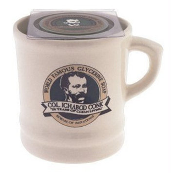 Colonel Ichabod Conk Ceramic Mug Proudly Wears Our Legendary Portrait #115 by Colonel Conk by Colonel Conk