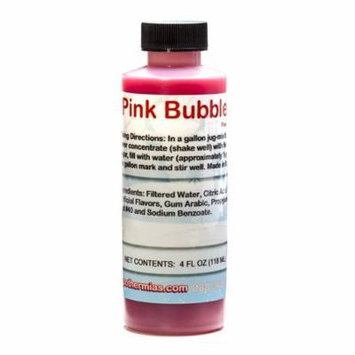 Pink Bubble Gum Shaved Ice and Snow Cone Flavor Concentrate 4 Fl Ounce Size