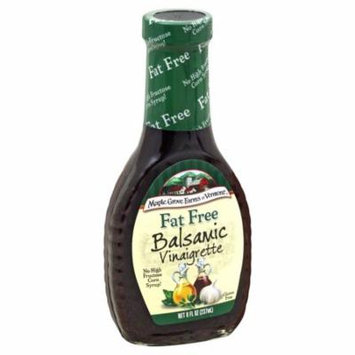 Maple Grove Farms Fat Free Balsamic Vinaigrette Salad Dressing, 8 OZ (Pack of 1)