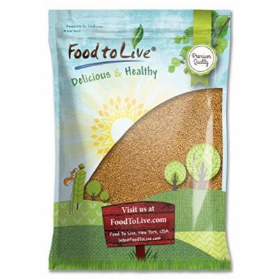 Food to Live Fenugreek Seeds (Methi) (Kosher) (10 Pounds)