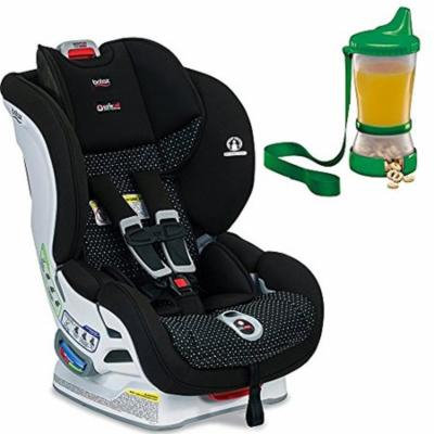 Britax USA Marathon ClickTight Convertible Car Seat, Vue & Non-Spill Cup and Snack Container, Colors May Vary