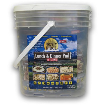 Grizzly Ridge Lunch & Dinner Pail
