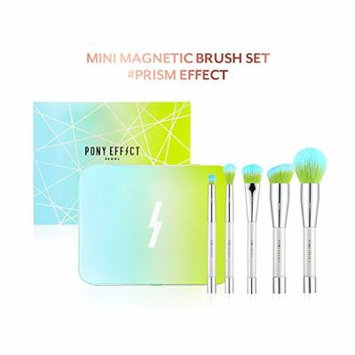 Pony Effect Mini Magnetic Brush Set #Prism Effect (Limited Edition) Greenery
