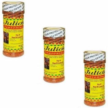 Julio's Seasoning Three Pack - 24 oz Total