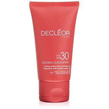 decleor aroma sun expert protective spf 30 anti-wrinkle cream, 1.69 fluid ounce