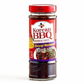 Korean Bulgogi BBQ Sauce 17.6 oz each (5 Items Per Order)