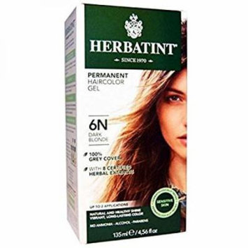 Herbatint Permanent Herbal Haircolour Gel, Dark Blonde, 4.56 Ounce
