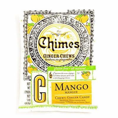 Chimes Mango Ginger Chews 5 oz each (5 Items Per Order)