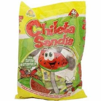 El Azteca Lollipop Sandia - Bag 40Ct
