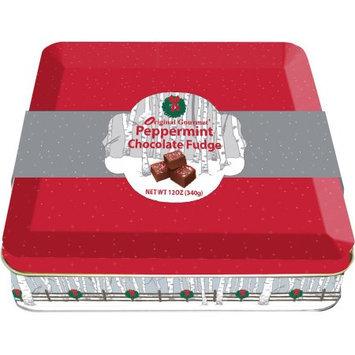 R.h. Macy & Co. Original Gourmet Peppermint Fudge Tin