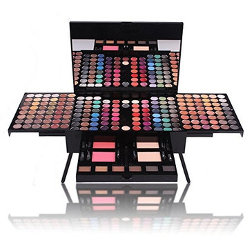 PhantomSky 180 Color Eyeshadow Makeup Palette Cosmetic Contouring Kit - Perfect for Professional and Daily Use