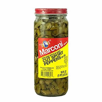 Cut Sport Peppers 16 Oz., Pack of 12