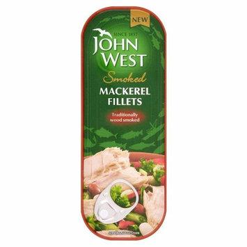 John West Smoked Mackerel Fillets (110g)