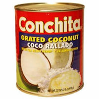 Conchita grated coconut in syrup 34 oz