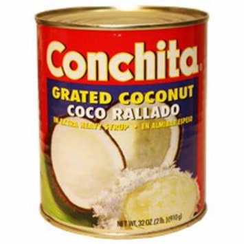 Conchita grated coconut in syrup 34 oz