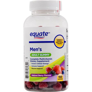 Equate men's multivitamin gummy, 150 ct