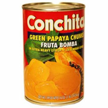 Papaya chunks in syrup by Conchita 16 oz