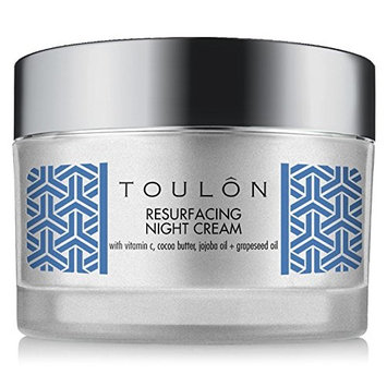 Night Face Cream For Women - Best Natural Face Moisturizer for Dry Skin with Vitamin C, Cocoa Butter & Grapeseed Oil to Build Collagen, Reduce Fine Lines & Firm Neck and Decollete