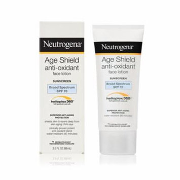 Neutrogena Age Shield Face, Sunscreen Lotion, SPF 70 3.0 oz.(pack of 6)
