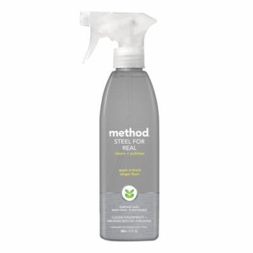 method Steel for Real Cleaner + Polish 12.0 fl oz(pack of 4)