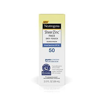 Neutrogena Dry-Touch Sheer Zinc SPF 50 Face Lotion 2.0 oz(pack of 1)