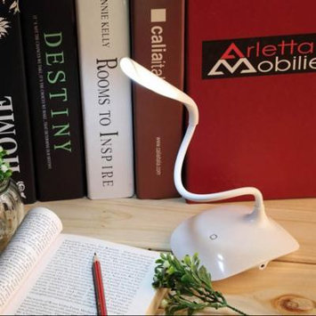 Adjustable USB Rechargeable Touch Sensor LED Reading Light Desk Table Lamp