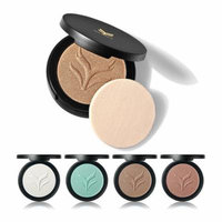 Huamianli Highlight Powder Cosmetics Brighten Contour Bronzers Palette Makeup With Mirror (Color:2#)