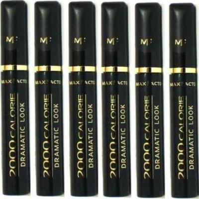6x Max Factor 2000 Calorie Dramatic Look Mascara by Max Factor