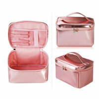 H:oter Women & Girls Cosmetic Bag Makeup Pouch Case Toiletry Bag Make-Up Bag, Gift Ideas--Colors Various, Price/Piece - Champagne
