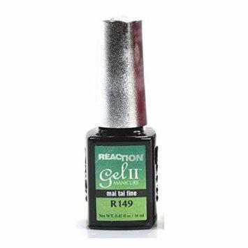 Gel II Soak Off Reaction Gel Polish Mai Tai Fine, 0.47 oz