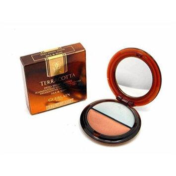 Guerlain Terracotta Duo Shiny Shine Sea & Sun Highlighter Face Eyes Lips 3,8g/.13oz