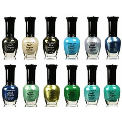 Kleancolor Nail Lacquer 12 Pieces (110 to 121)