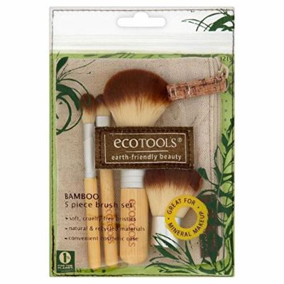 Eco Tools 5 Piece Bamboo Brush Set - Pack of 2