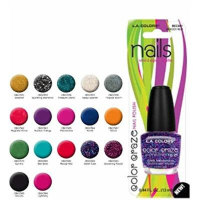 Blister Nail Polish Moody Red, Case of 12