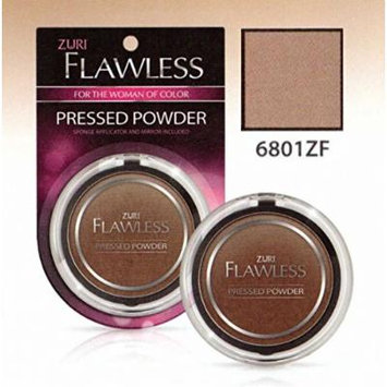 Zuri Flawless Pressed Powder - Cocoa Bronze (Pack of 4)