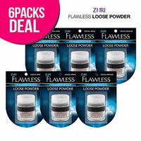 Zuri Flawless Loose Powder - Cocoa Bronze (Pack of 6)