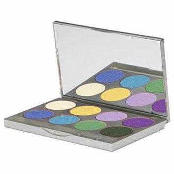 Graftobian HD Ultrasilk Matte Eye Shadow Palette (Vibrance)