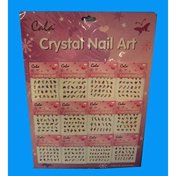 Crystal Nail Art 12pk, Case of 1